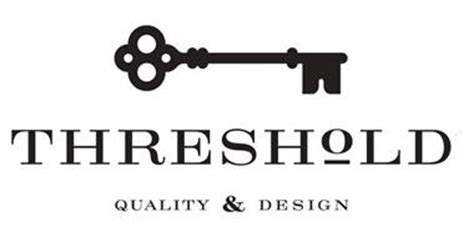 threshold quality and design threshold quality design trademark of target brands inc