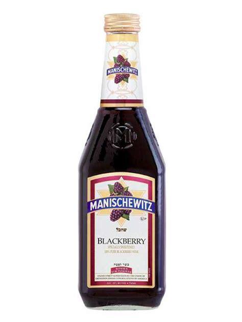 Manischewitz Wine Co. - Manischewitz Blackberry 750ML ...