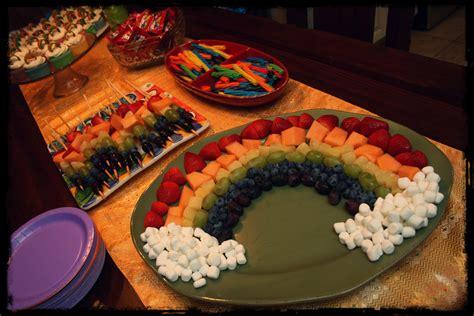 food ideas for rainbow birthday food ideas art party ideas pinterest