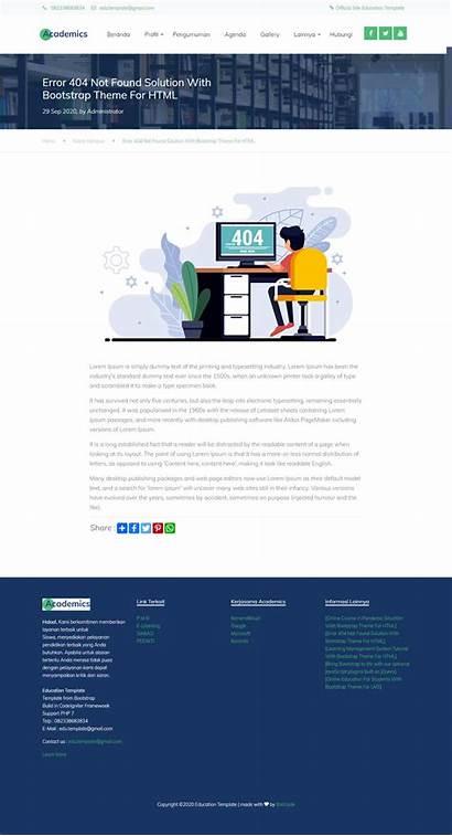 Colorlib Kampus Template Website Codeigniter Support Ci