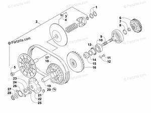 Arctic Cat Side By Side 2012 Oem Parts Diagram For