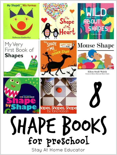 72 of the absolute best math picture books for 944 | 8 shape books for preschool plus 64 other math picture books perfect for teaching preschool math.