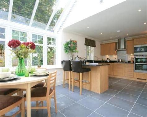 photo  conservatory kitchen kitchen extension