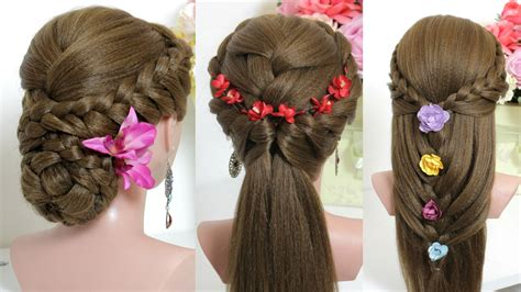 3 easy hairstyles for party must gaze video
