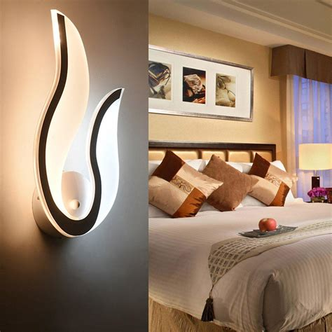 Led Lights For Room In Pakistan by Creative Modern 10w White Light Acrylic Led Wall L
