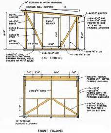 kelana 10 x 8 pent shed plans to build diy
