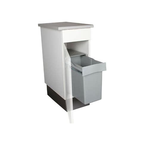 poubelle de cuisine poubelle de cuisine coulissante 1 bac 30 litres