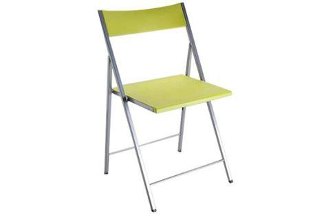 chaise pliante vert anis bilbao chaises pliantes pas cher