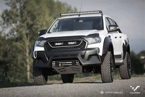 ford up raptor m sport ford ranger up gets the raptor treatment