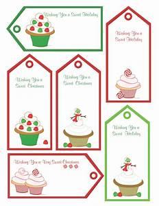 Red black name tags printable shoppe free christmas for Christmas tags on pinterest