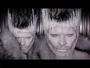 Ice Queen Makeup Tutorial  DIY Ice Crown  Jordan Hanz