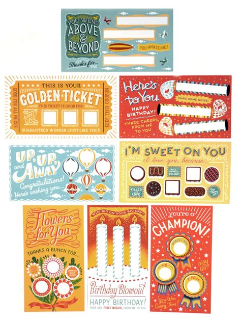 thank you card examples diy scratch off cards lucky you by leafcutter designs