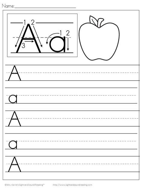 handwriting worksheets  kids file