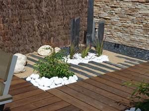 terrasse zen bois With idee deco jardin gravier 9 petit jardin de ville photo 12 un jardin qui ne