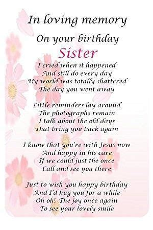 image result  happy birthday  heaven sister heaven