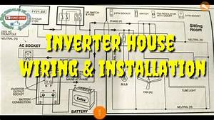 Inverter Wiring  U0026 Installation Diagram