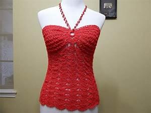 Blusa coral a crochet Patrones gratis