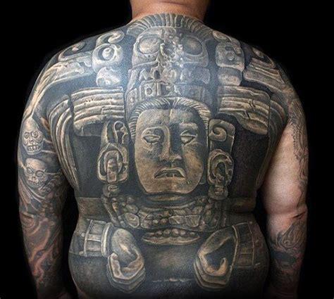 mayan tattoos  men masculine design ideas