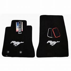 Ford Mustang Floor Mats - Running Pony