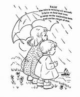 Coloring Nursery Rhymes Rhyme Rain April Showers Sheets Printable Mother Goose Honkingdonkey Embroidery Children Rainy Bring Flowers Away Raincoat Classic sketch template