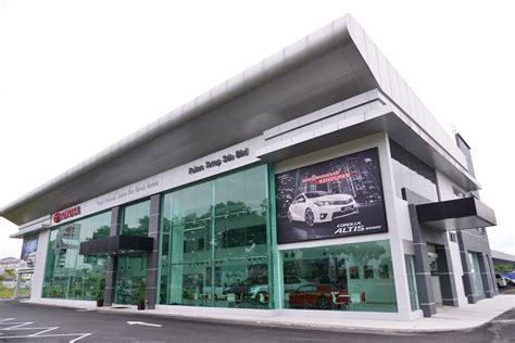 new toyota dealership new toyota 3s dealership in setia alam selangor motor