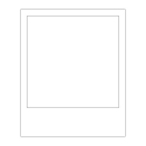 transparent template polaroid frame template overlay transparent