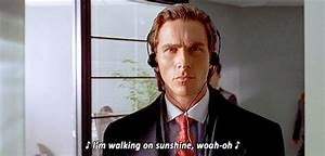 Christian Bale American Psycho GIFs - Find & Share on GIPHY