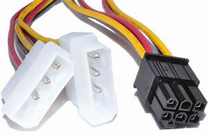 Ide To 6 Pin Video Graphic Card Power Cable For Evga