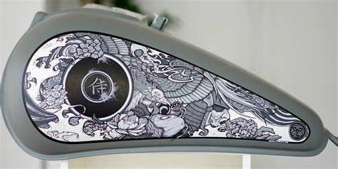 Motorcycle Tank Graphics