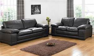 black leather sofa sets will add new look to living room With leather sofa set