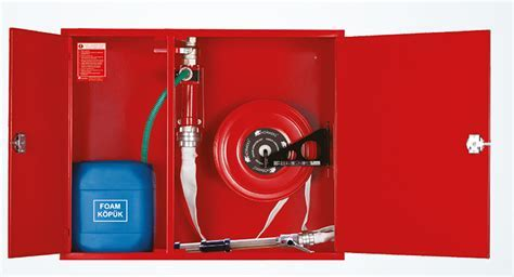 SURFACE FIRE HOSE CABINET WITH FOAM MIXER   Systems   NORM