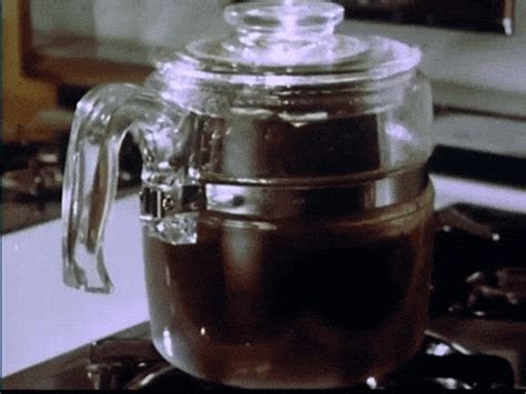 Can't get enough coffee first thing in the morning? Good Morning Vintage GIF - Find & Share on GIPHY