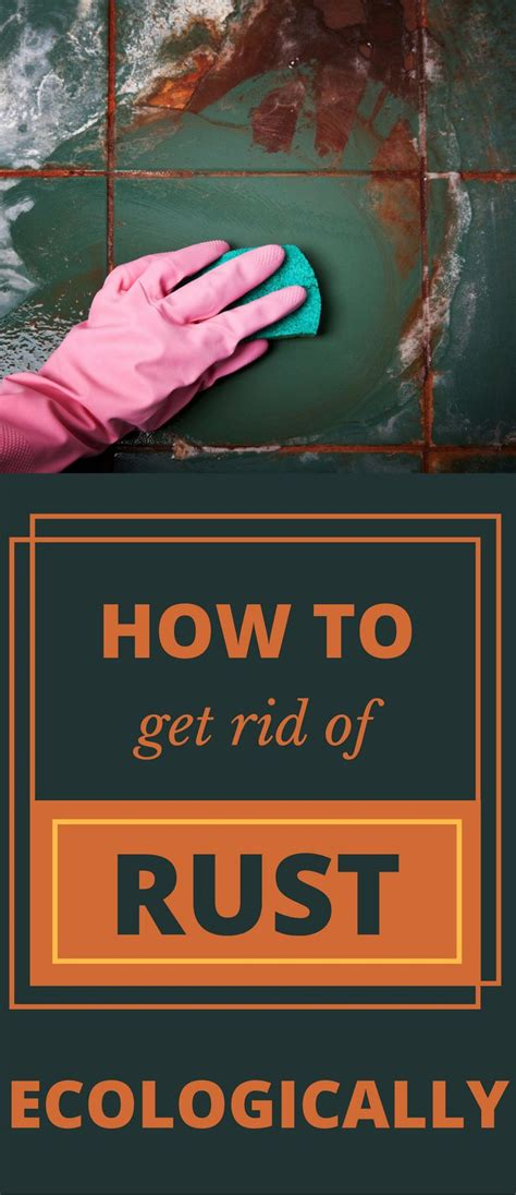 How To Get Rid Of Rust Stains In Tub by 1000 Best Cleaning Tips 101 Images On How To