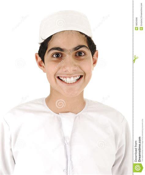 sourire arabe de gar 231 on image libre de droits image