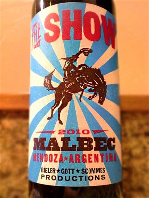 bobs brew  liquor reviews  show malbec