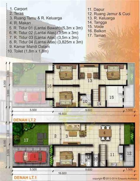 desain rumah minimalis luas tanah   lantai
