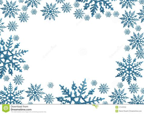 Border Snowflake Background Clipart by Snowflake Circle Border Clip Snowflake Border With
