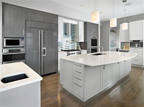 kitchen in a cabinet modern kitchens glossy cabinets refacing 4957