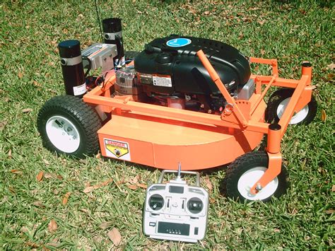 this rc lawnmower is a hybrid cnet