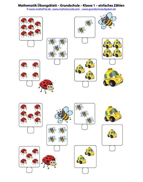 Kostenlose arbeitsblätter und übungen für mathe in der 1. Mathematik Arbeitsblätter Matheaufgaben Klasse 1