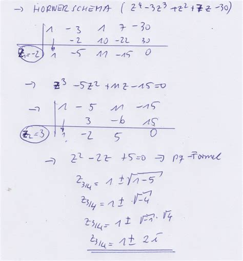 nullstellen berechnen polynomdivision nullstellen