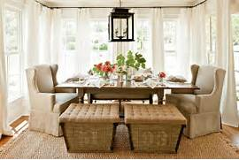 Dining Room Rug Design Breezy Dining Room Seems Perfect For Summer And Fall 30 Unassumingly