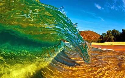 Wave Sea Wallpapers Transparent Waves Desktop Ocean
