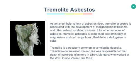 types  asbestos