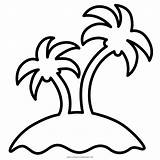 Tropical Island Coloring Pages Printable Getcolorings Colo sketch template