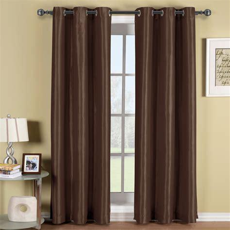 soho grommet thermal coating blackout window curtain panel