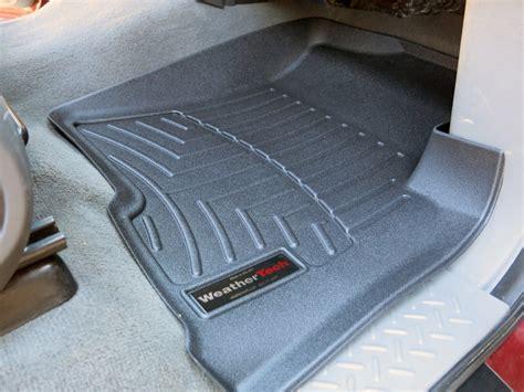weathertech floor mats 2005 f150 weathertech front auto floor mats black weathertech