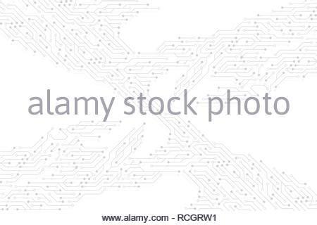 Abstract Digital Illustration Microchip Board