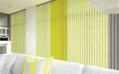Blinds Vertical Confetti Fabric Chartreuse Drapes Manufacturer