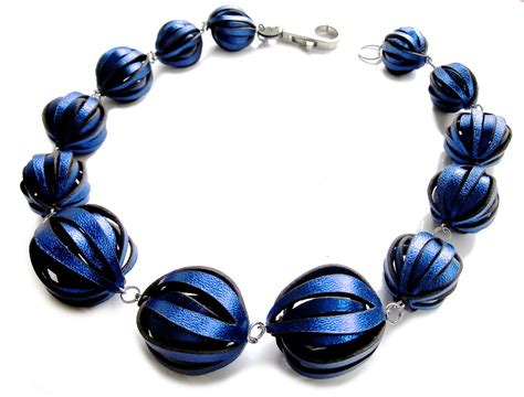 elettric blue   Necklace, Jewelry, Blue
